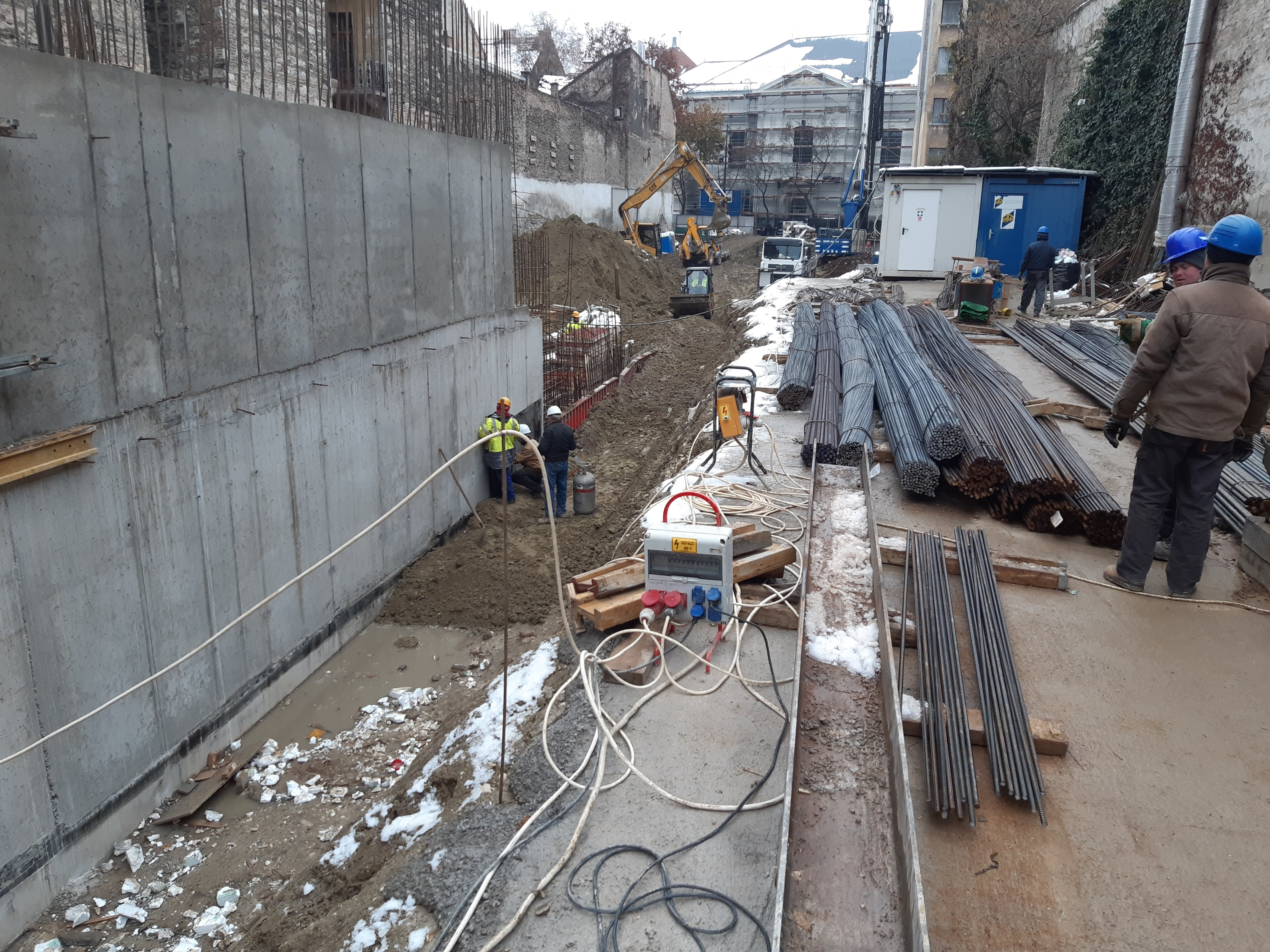 Marone House építkezls 2019. december