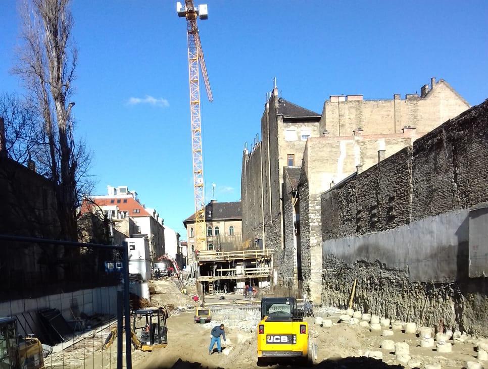 Marone House építkezés 2020. február