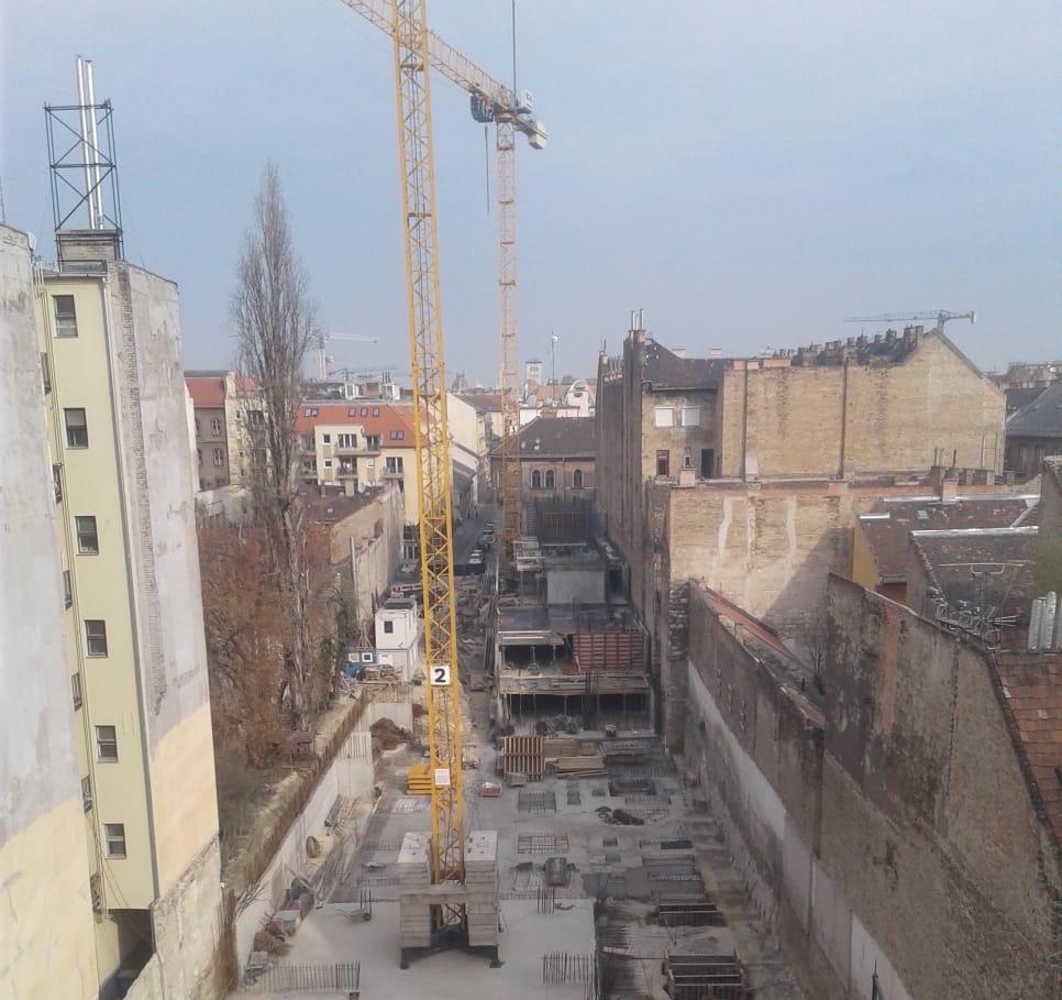 Marone House építkezés 2020. március.