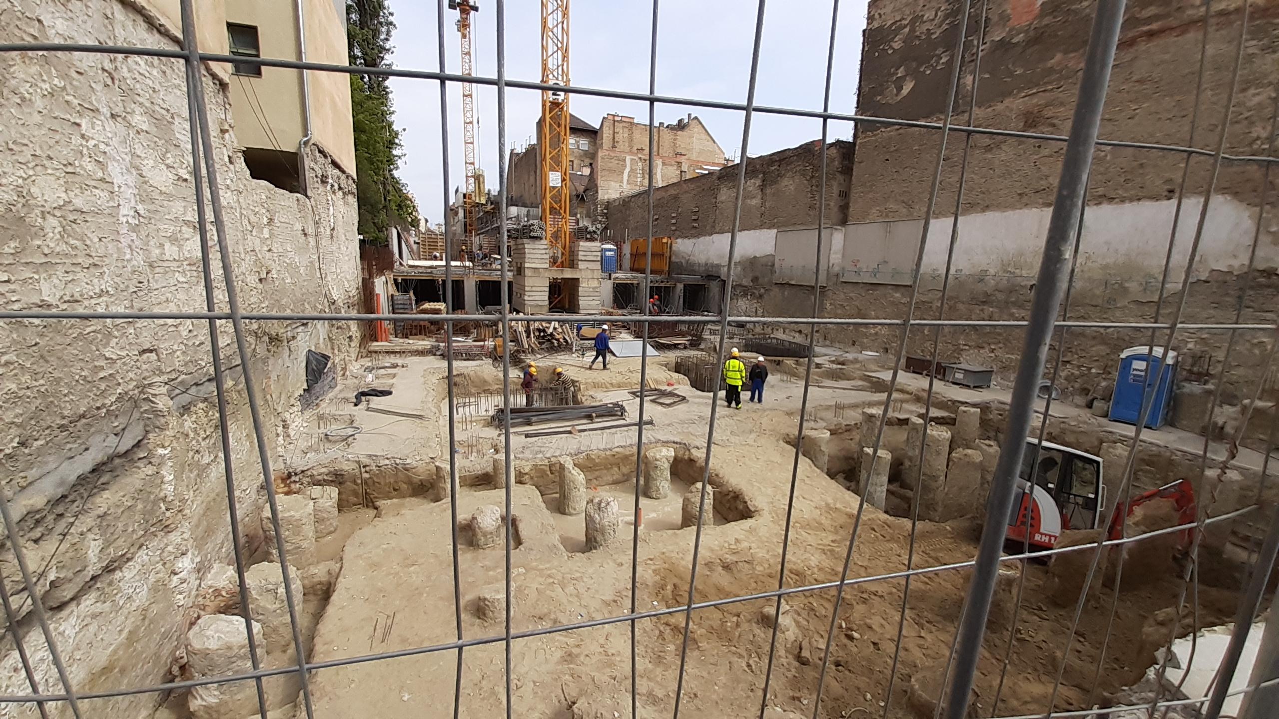 Marone House építkezés 2020. május