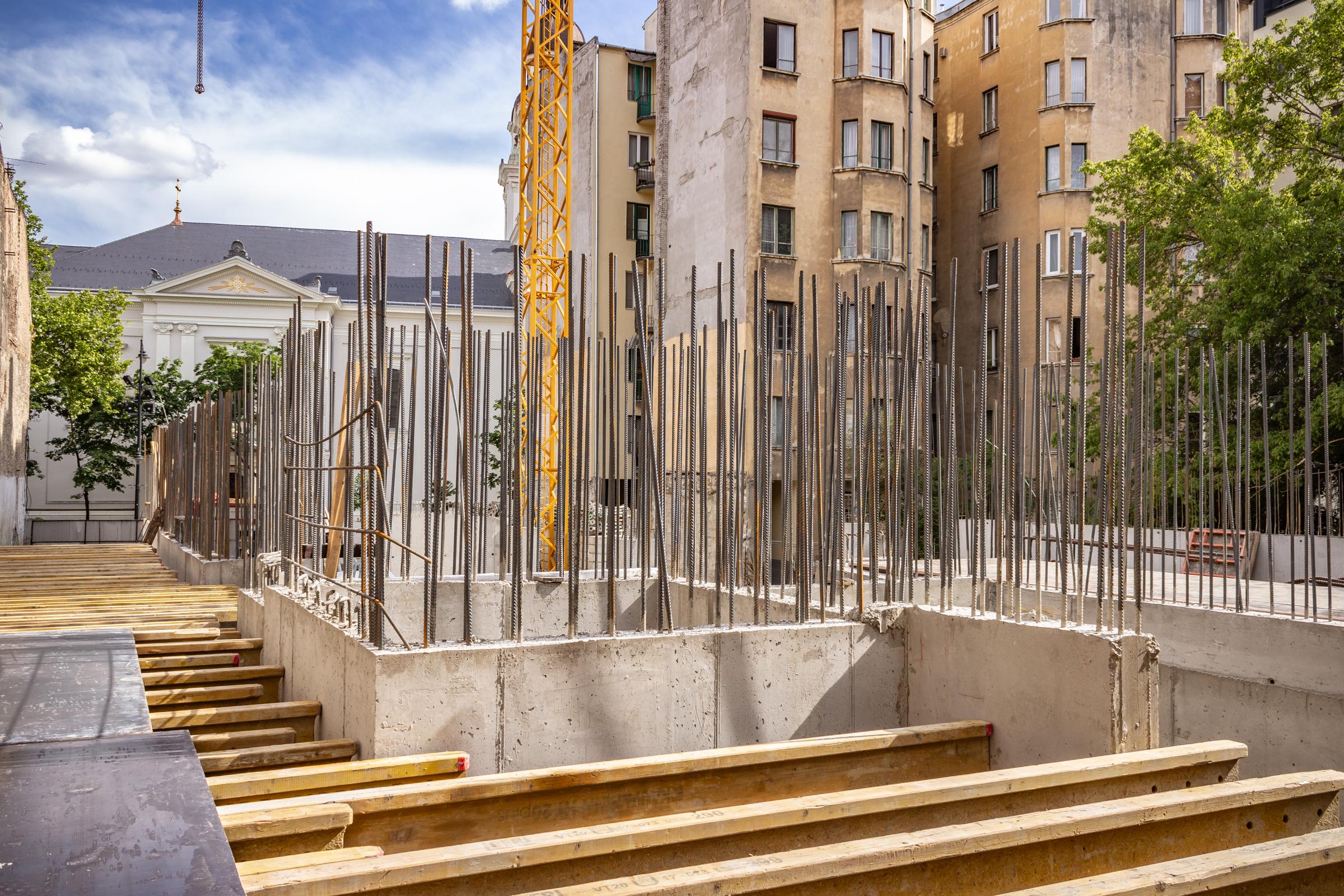 Marone House építkezés 2020 június