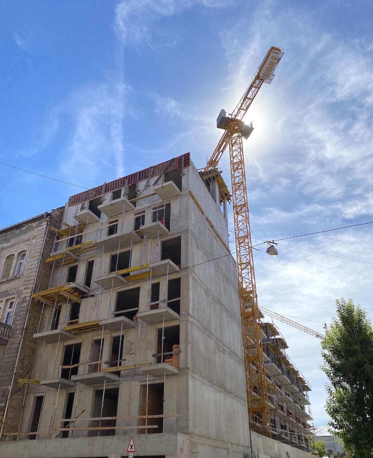 Marone House építkezés 2020 augusztus