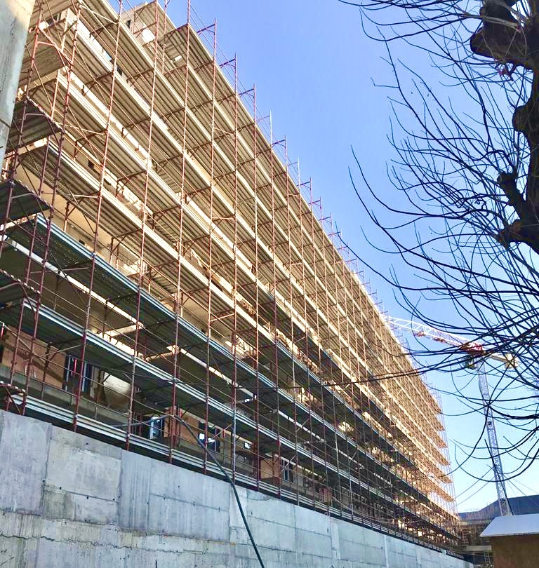 Marone House építkezés 2021 március